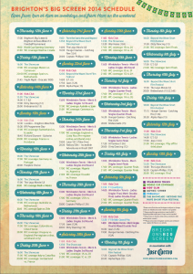 Brightons-Big-Screen-Schedule-2014