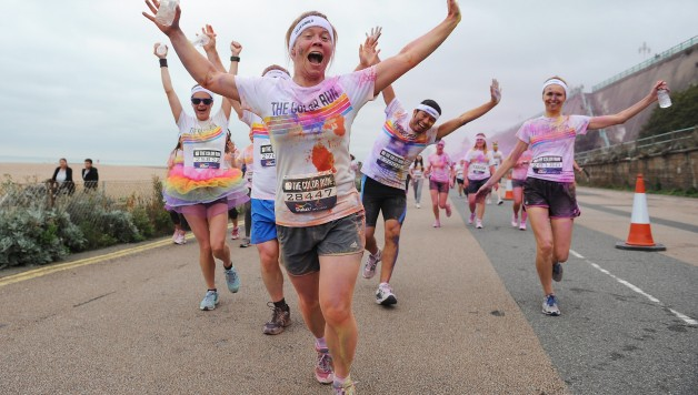 COLOR RUN BRIGHTON