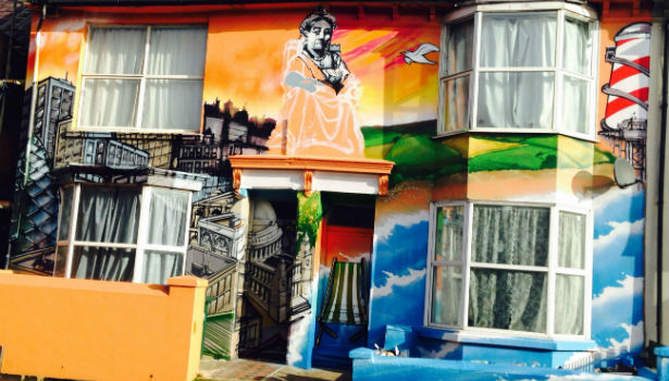 Brighton Graffiti House