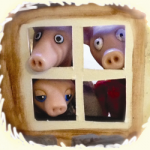 Three Excellent Little Pigs by Al Start
