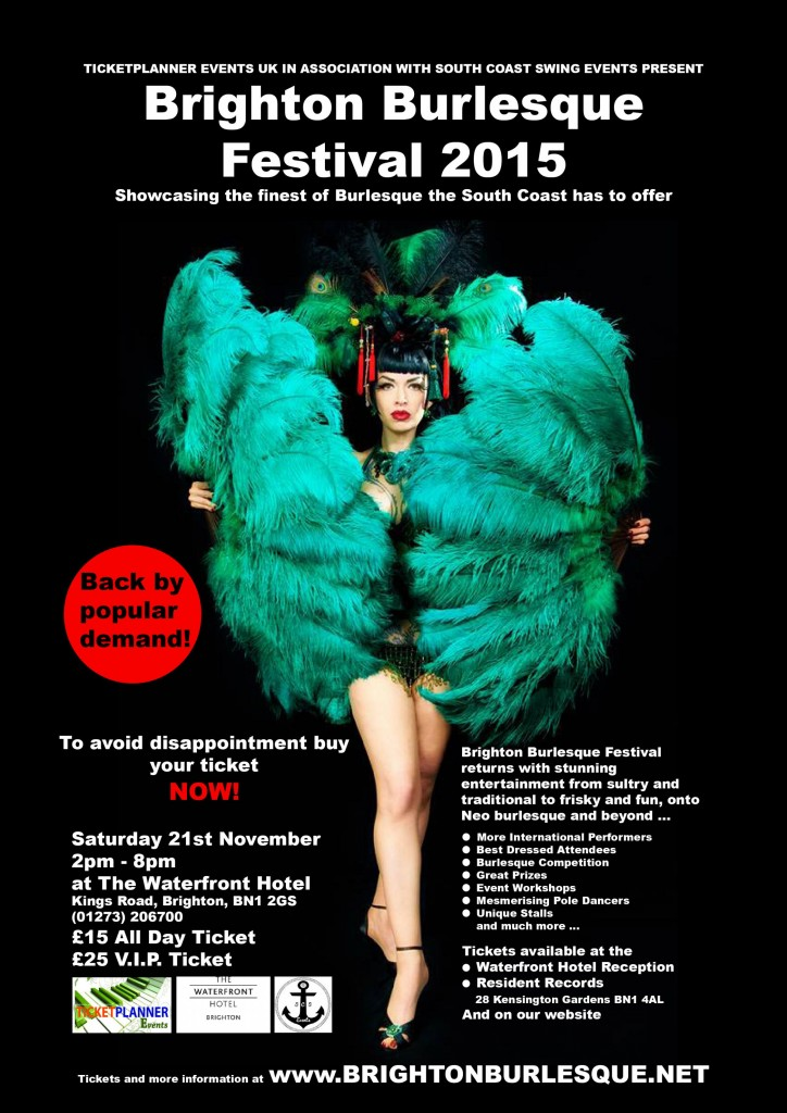 Best Things to do this Weekend Brighton 21st - 22nd November 2015