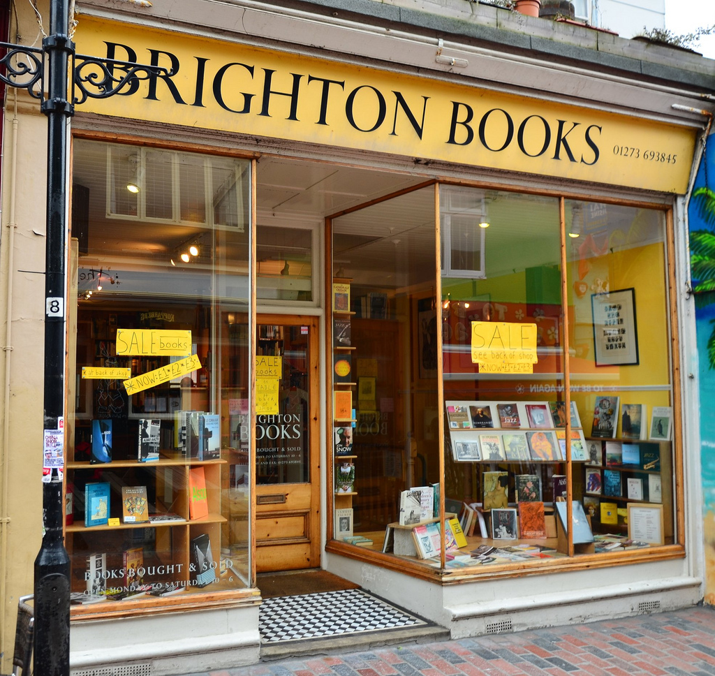 Bookshops in Brighton