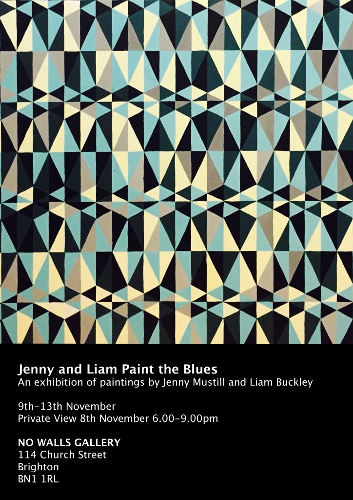 Jenny and Liam Paint the Blues